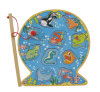 Wooden Magnetic Fishing Puzzle with Fishing Pole