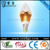 3X2 W Epistar E14 calientan la luz blanca de la vela del LED