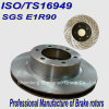 E1r90 ISO/Ts16949 자동차 부속 브레이크 회전자 KIA 차