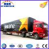 経済的な3つの車軸ヴァンかボックスまたは貨物記号論理学のトラックの半実用的なトレーラー