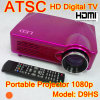 Projecteur de LED Digital TV ATSC Proyector avec HDMI 1080p (D9HS)