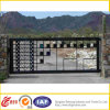 Abaisser Price Wrought Iron Security Gate avec Galvanized/Powder Coated