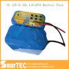 Solar-LED-Beleuchtung 12V LiFePO4 Batterie 6.4ah mit PCM 10A