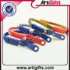 Förderndes buntes Reißverschluss-Armband