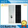 luz de calle solar de 120W LED IP68 para el proyecto del gobierno de aldea