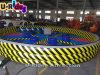 Eliminador inflável, vassoura inflável do Wipeout do Wipeout, jogo inflável da zona da fusão