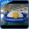 Parque inflable del agua de Saturno del barco del disco del PVC del flotador inflable del agua