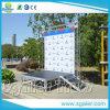 Het Aluminium dat van het Systeem van de Bundel van de Achtergrond van de Bundel van de Vloer van het aluminium het Systeem van de Bundel vouwt