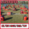 Inflatables Paintball Bunker Field с пневматическим насосом, Paintballs Wholesale (J-PB-015)