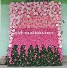 고품질 Personized 로즈 및 단계 배경 훈장을%s Hydrangea 인공 꽃 벽