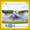 Runder Kuchen-Form-Musik-Wasser-Brunnen am Park