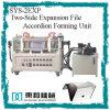 Accordéon bilatéral de fichier d'expansion formant l'élément (SYS-2EXP)