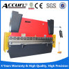 Da placa inoxidável hidráulica do sistema do CNC Da52 de Wc67y Nantong freio em tandem da imprensa
