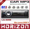 車FM/MP3プレーヤーLJL-6206の音楽プレーヤーの可聴周波製品サポートの多用性があるCD、エムピー・スリーフォーマット、車のMP3プレーヤー