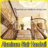 Balustrade de luxe d'intérieur d'aluminium en métal de balustrade de balcon d'escalier