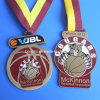 Medallones del deporte de la medalla 3D del baloncesto de los E.E.U.U.