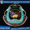 Il metallo antico mette in mostra la medaglia per concorrenza con il nuovo disegno
