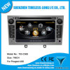 2 LÄRM Car DVD für Peugeot 408 mit Aufbauen-in GPS, A8 Chipset, RDS, BT, 3G/WiFi, 20 Dics Momery