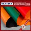 Tela incatramata laminata rivestita lucida del PVC di alta qualità impermeabile per il coperchio del camion