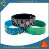 Vente en gros bracelet protecteur de silicones de logo de Debossed de largeur de 1 pouce