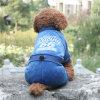 Vêtements d'habillement d'animal familier de salopette d'hiver de chien d'ouatine de velours