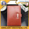Cuaderno clásico del diario de la cubierta de la PU con la insignia para la promoción (N-02)