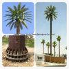 Искусственная напольная башня пальм кокоса формы бутылки