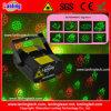 Mini luz de la Navidad del laser de la etapa