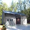 Garage prefabricado barato del nuevo diseño 2014 (LWY-pH32)