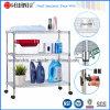 Шкаф вагонетки провода металла ванной комнаты крома (CJ-C1039)