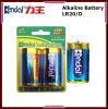 Bateria alcalina seca 1.5V do tamanho da pilha Lr20 D