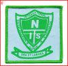 Emblema feito sob encomenda do bordado da escola para o vestuário (YH-WB034)
