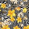 Impression 0901 de Digitals de tissu en soie de mode