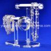 Présentoir acrylique fait sur commande de bijoux (YYB-615)