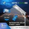 太陽LEDの街灯をつける1つの太陽庭のすべて