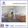 Automatische het In balen verpakken van de Pers Machine voor Papierafval, Karton met Transportband