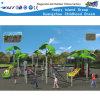 Campo da giuoco esterno della trasparenza di combinazione dei bambini che arrampica Playsets HD-Fy09801
