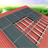 Кронштейны поддержки алюминиевой рамки кронштейна установки крыши PV солнечные сооруженные солнечные