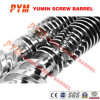 Twin conico Screw Barrel per il PVC