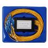 1*16 PLC van de Splitser van de Kring Lightwave van SC/PC VlakSplitser