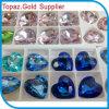 Juwelen die van het Bergkristal van het punt de Achter het Kristal van Chaton Swaro van het Kristal parelen maken (tB-Hart)