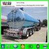 Acoplado de aluminio del tanque del tri combustible del árbol 42000liters