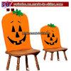 la silla de la calabaza de la linterna del gato-O' cubre la decoración del partido de Víspera de Todos los Santos (H8103)