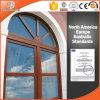 Ventana revestida de aluminio del marco de madera sólida de la ventana de la especialidad del estilo de América con la parrilla