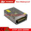 fuente de alimentación de la conmutación del transformador AC/DC de 24V 8A 200W LED Htp