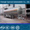 reboque líquido Fuel Oil de alumínio do tanque da capacidade 46500L elevada Semi