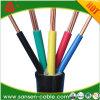3X0.75mm2 5X1. cabo de controle do núcleo LSZH do cabo de controle do PVC do cabo elétrico de mm2 7X 1.5mm2 multi