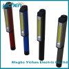 Indicatore luminoso Pocket di alluminio del lavoro della penna della PANNOCCHIA LED