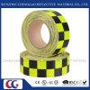 Cinta reflexiva Checkered fluorescente luminosa para la señal de tráfico (C3500-G)