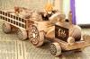 Modelos hechos a mano hermosos de madera del coche
